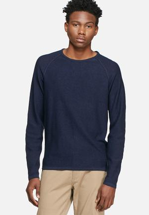 Jack & Jones Premium Trevor Knit Knitwear Navy