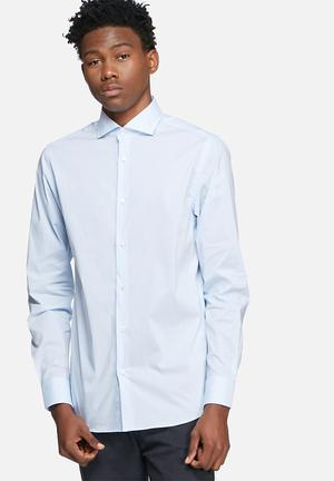 Jack & Jones Premium Michael Slim Shirt Blue