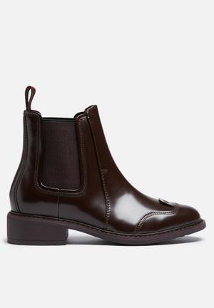 G-Star RAW Guardian Chelsea Boots Burgundy