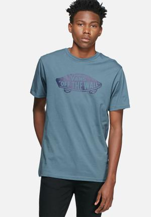 Vans Off The Wall Tee T-Shirts & Vests Blue