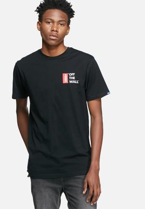 Vans Off The Wall III T-Shirts & Vests Black