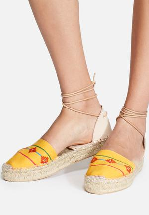 Espadril Inca Amarilla Pumps & Flats Orange