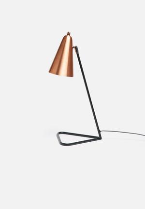 Illumina Mink Desk Lamp Lighting Copper