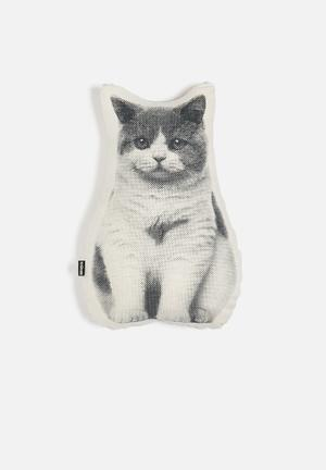 Ménagerie Molly The Cat Scatter Cushions & Throws 100% Cotton; Polyester Stuffing (unicurl)
