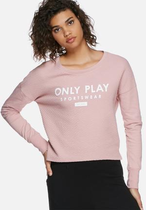 ONLY Play Asta Sweat Hoodies & Jackets Pink