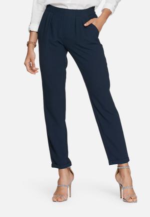 Vero Moda Goiacity Pants Trousers Navy