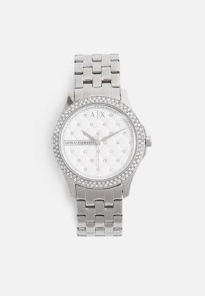 Armani Exchange Dress Watch Silver
