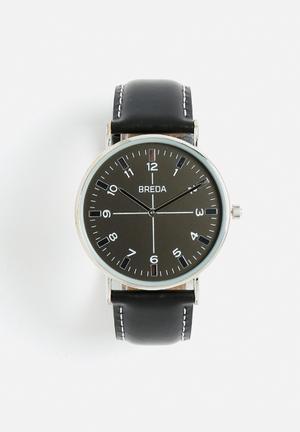 Breda Watches Belmont Watches Black / Silver