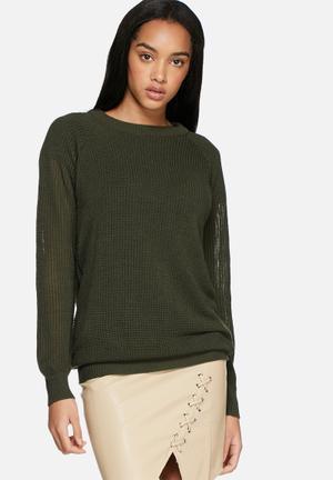 Dailyfriday Amanda Lightweight Knit Knitwear Green