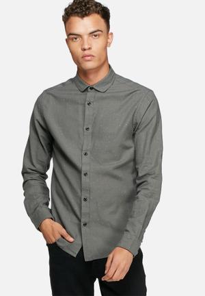 Only & Sons Sejr Slim Shirt Grey