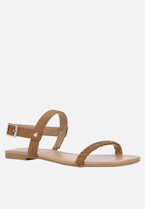Call It Spring Gastili Sandals & Flip Flops Tan
