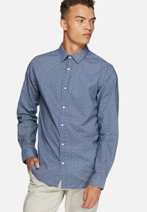 Jack & Jones Premium New Castle Slim Shirt Navy