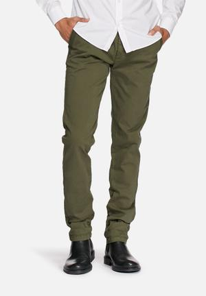 Sergeant Pepper Panel Chinos Olive
