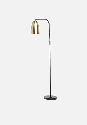 Sixth Floor Bendi Floor Lamp Lighting Powder Coated Metal