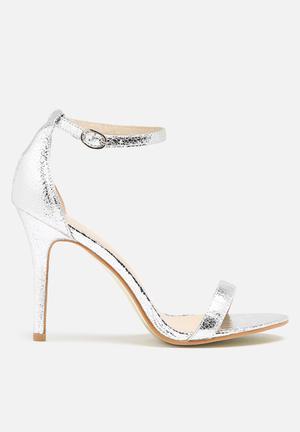 Glamorous Catrina Heel Silver