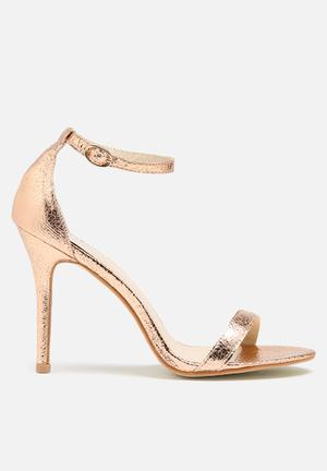 Glamorous Catrina Heel Rose Gold