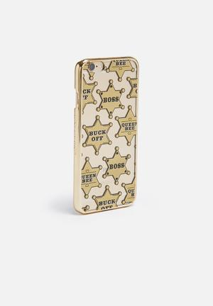 Skinnydip Boss IPhone 6/6s Cover Gold