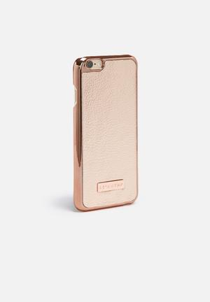 Skinnydip Rose Gold Phone 6/6s Cover Rose Gold