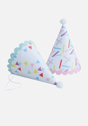 Ginger Ray Sprinkles Party Hats Partyware Paper