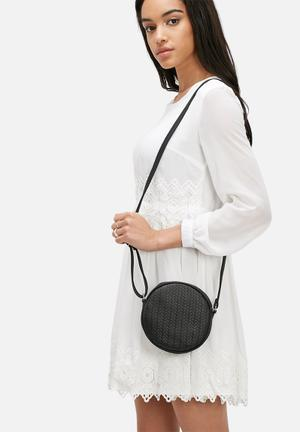 Vero Moda Tulle Crossover Bag Black