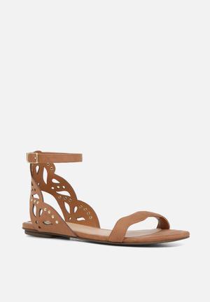 ALDO Lillywhite Sandals & Flip Flops Brown