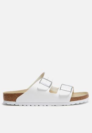 Birkenstock Arizona Sandals & Flip Flops White