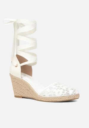 ALDO Cundari Heels White