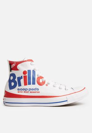 Converse Chuck Taylor All Star Sneakers White / Red / Blue