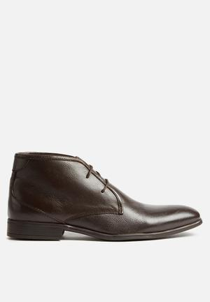 Watson Shoes Alexander Leather Boot Brown