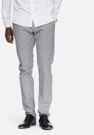 Selected Homme Harval Slim Pant Black