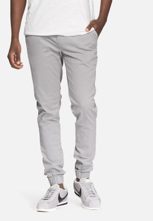Only & Sons Kay Slim Cuffed Chino Grey