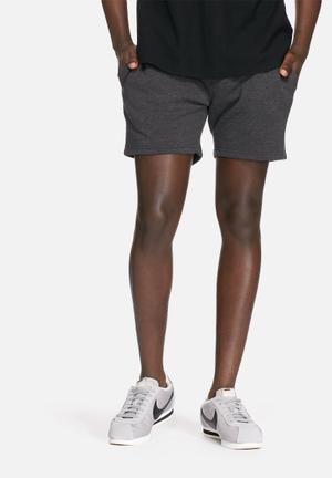 Only & Sons Campy Sweat Short Grey