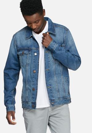 Jack & Jones Jeans Intelligence Jean Denim Jacket Blue