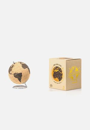 Suck UK Small Cork Globe Gifting & Stationery Cork