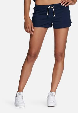 Dailyfriday Cotton Jogger Shorts Navy