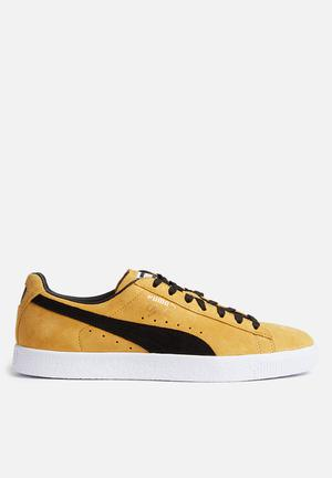 PUMA Clyde Sneakers Bright Gold / Black