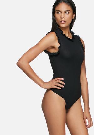 Vero Moda Mila Bodystocking Blouses Black