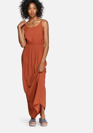 Vero Moda Super Easy Maxi Dress Casual Orange
