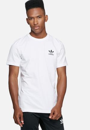 Adidas Originals White Tee T-Shirts White