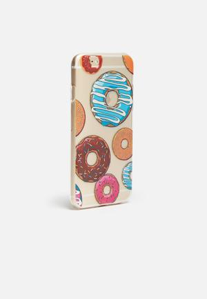 Hey Casey Donut Worry - IPhone & Samsung Cover Clear With Donuts
