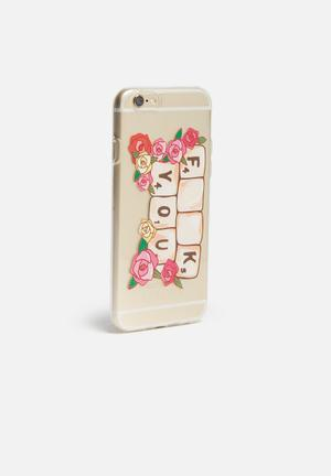 Hey Casey Scrabble - IPhone & Samsung Cover Clear With Scrabble