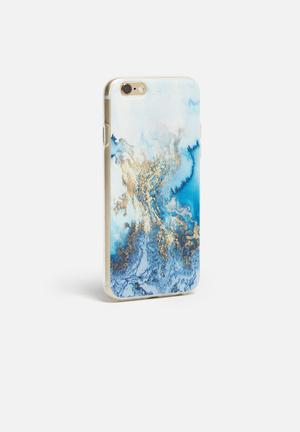 Hey Casey Fool's Gold - IPhone & Samsung Cover Blue / White / Gold