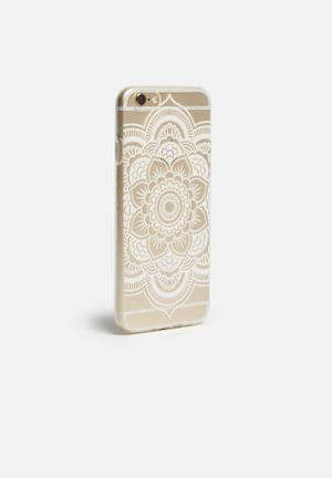 Hey Casey Flower Of Life - IPhone & Samsung Cover Clear / White