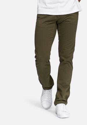PRODUKT Regular Fit Chino Green
