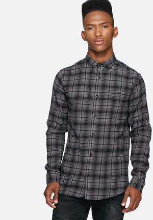 Only & Sons Sofus Slim Shirt Grey