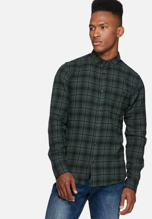 Only & Sons Sofus Slim Shirt Green & Black