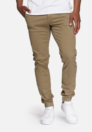 Only & Sons Tarp Tapered Cuffed Chino Stone
