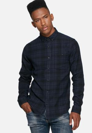 Only & Sons Sofus Slim Shirt Black & Navy
