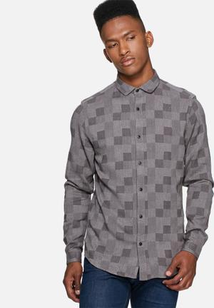 Only & Sons Sailor Slim Shirt Grey