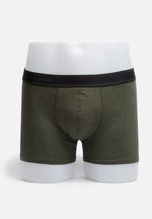 Selected Homme Jake Trunks Underwear Green